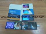 """Deslizar o folheto video 2.4 """" LCD do cartão conhecido de negócio"""