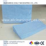 MSDS, a FDA aprovou extrudado soprado azul suave toalhetes de limpeza feitos a partir de Rayon e poliéster aplicado na limpeza do piso em madeira, casa de banho, cozinha, Windows