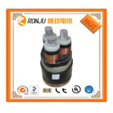 Wdz-Yjv23 XLPEはPVC Jacketed低い煙ハロゲン自由な炎-抑制鋼鉄テープArmoringの電源コード絶縁した