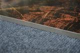 60X60 80X80 자연적인 돌 보기 검정 금 도기 타일