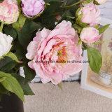 Main en gros ressentant la pivoine de fleur artificielle pour la maison et Wedding le &Decoration