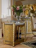0016金カラー古典的な贅沢な居間のコーヒーテーブル、ソファー