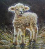 La peinture décorative de haute qualité peu de chèvre sur toile pour décoration murale