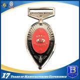 La récompense de médaille d'or de qualité ouvre la médaille de souvenir