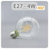 G80 Mundo Edison bombillas de incandescencia LED 4W E27 estilo Vintage bombilla de incandescencia LED