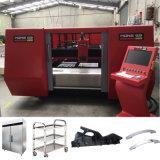 Velocidade rápida de aço carbono máquina de corte de fibra a laser em aço inoxidável