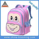 Beau sac d'école neuf d'élève de gosses d'enfants de filles de singe de dessin animé