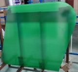 Vidro laminado verde sobrecoloridos