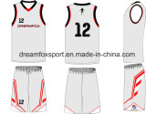 El OEM mantiene el baloncesto respirable Jersey de la impresión de la sublimación del nuevo diseño de encargo