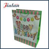 Funkeln-lamellierter kundenspezifischer Firmenzeichen-Entwurfs-Papiermattbeutel für Geburtstag