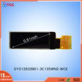 """0.96 """" visualizzazioni 128X64 di OLED punteggiano il briciolo il CI SSD1306bz dello schermo Syo12864b01 del comitato"""