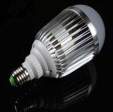 항공 선반 알루미늄 열복사 및 일정하 현재 모는 IC를 가진 고품질 내구성 E27/E14 3W/5W/7W/9W/12W/15W/18W/24W/30W 공 LED 전구