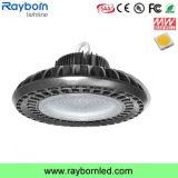 純粋なアルミニウム脱熱器IP65 100W 200W LED Highbay UFOライト