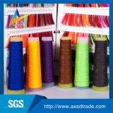染められたカラー100%年のポリエステルリングはヤーンの糸を回した