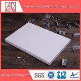 PVDF revêtement en aluminium de 20 ans de garantie des panneaux muraux pour revêtement de toit plafond soffites//