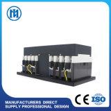 Interruttore automatico di trasferimento del ATS per l'apparecchiatura elettrica di comando doppia del cambiamento 63A-3200A di potere del generatore