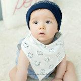 Customized 100%Bebê Algodão Bandana Baba Bibs Supllier Chinês