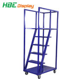 Almacén de acero Mueble escalera Cart