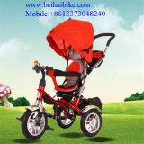 4 in 1 Baby-Dreiradbaby-Spaziergänger scherzt Dreirad