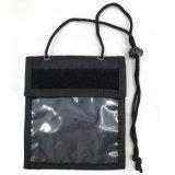 プラスチック締縄が付いている昇進のNon-Woven展示会のバッジホールダー