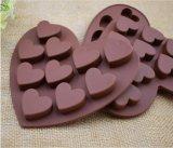 Silicone de qualité alimentaire de moule à gâteau au chocolat