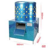 Machine fonctionnante élevée de plumeur de poulet d'acier inoxydable de capacité à vendre
