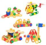 Blocos de Construção de PCS 78Madeira brinquedo