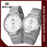 Douane van de van de Bedrijfs paren van Belbi Horloge van de Gift van het Kwarts het Zwarte van het Polshorloge