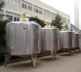 Petit réservoir de chauffage de pasteurisateur en lots de lait de pasteurisateur