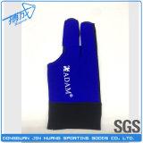 Перчатки Snooker бассеина перчаток биллиарда высокого качества 3finger и бассеина профессионала