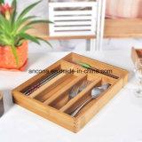 Cesta e bambu de fruta de bambu que dobram a cesta de fruta de madeira