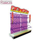 regalo de promoción de Metal Pop para rack de la pantalla de juguetes para niños