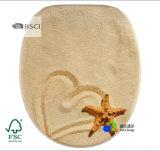 Bellos diseños de alta calidad de las bisagras estable imprime asiento del inodoro