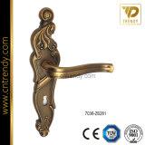 Alliage de zinc haute qualité interne des poignées de verrouillage de porte en bois (7074-Z6385)