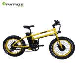 中国の製造者からのBafang黄色い二重モーター電気バイクの2017新しいデザイン