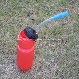 BPA geben Wasser-Flasche des Sport-600ml mit Stroh frei
