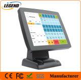 """15"""" в момент продажи оборудования POS с емкостными сенсорными панелями с сенсорным экраном и Msr"""