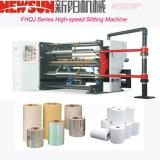 Máquina que raja de alta velocidad para el PVC