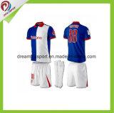 Ropa deportiva sublimación Wholesales personalizada para los hombres Camiseta de fútbol