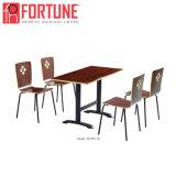 В отличие от HPL Top-Quality современных материалов кафе Стулья и столы с ног из нержавеющей стали (FOH-BC20)