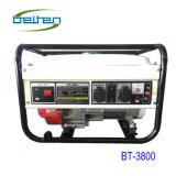Bt3800 2.5kw beweglicher kupferner Draht-Energien-Rückzug, der Benzin-Generator anstellt