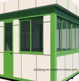 Panneau de revêtement de mur extérieur décoratif / panneau composite en aluminium