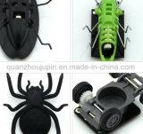 As crianças crianças criativas OEM Solar de plástico brinquedo Carro de insectos
