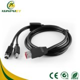 Kundenspezifisches Daten 24V USB-Energien-Kabel für Registrierkasse