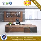 La modestia de Gris oscuro Roble Oficina en el escritorio del Panel de tabla (HX-8NE019)