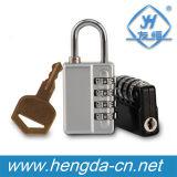 Yh1267 4 Combinaison de numérotation de verrouillage numérique avec clé principale