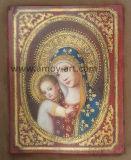Madonnaおよび壁の装飾のための子供図油絵