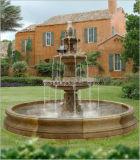 Fontein van het Water van de Tuin van de Steen van het Standbeeld van de Zwaan van Europa de Grote Gesneden Marmeren voor Decoratie