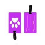 Custom 3D da etiqueta de bagagem de silicone macia/ Bolsa de borracha Tag/ Sala de PVC Tag ID de viagens de avião personalizado da etiqueta de bagagem de PVC