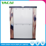 Piso de seguridad papel interiores personalizados Display stands de exposición para tiendas